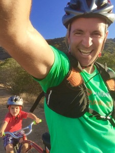 Riding with your kids is one heck of a way to relax and have a great time!